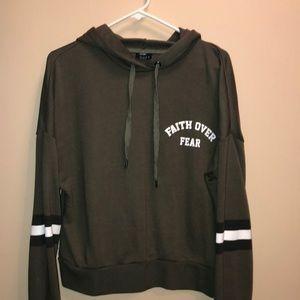 Rue 21 Crop hoodie